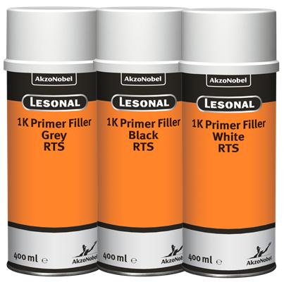Spraylack Lesonal Primer/Filler RTS schwarz